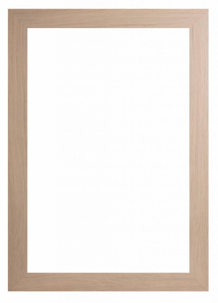 Sardinia Grande - breiter Rahmen aus hellem Holz