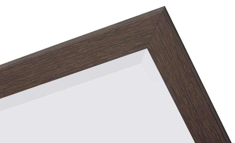 Sardinia Medio - Spiegel mit Rahmen aus dunklem Holz