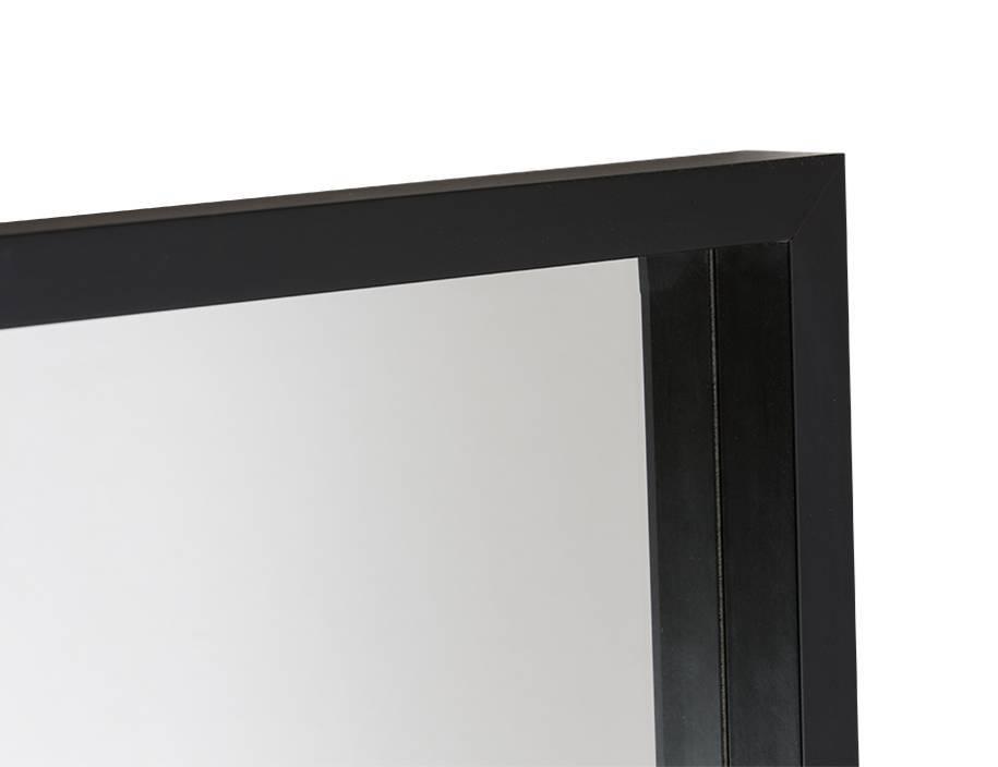 veneto schwarzer design spiegel. Black Bedroom Furniture Sets. Home Design Ideas