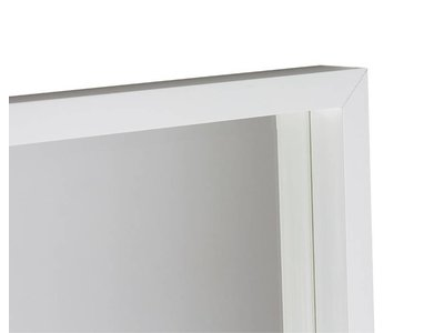 Veneto -Designer Spiegel  mit weißem Rahmen