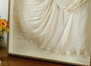 Textilien Einrahmen