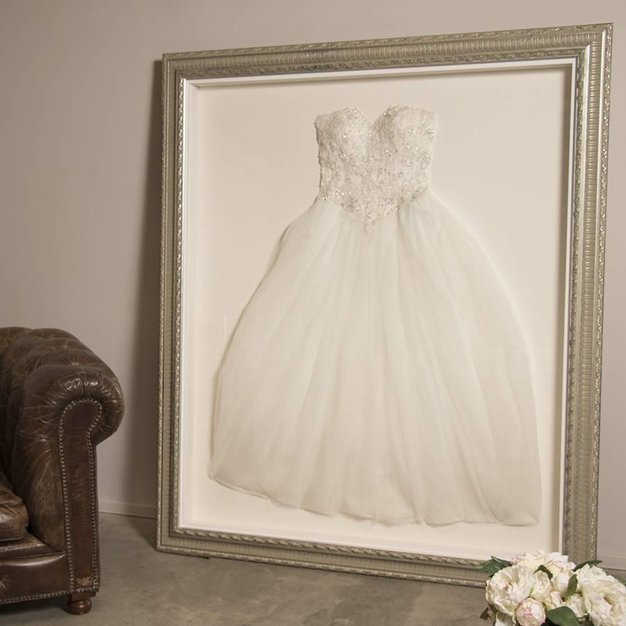 Lassen Sie Ihr Brautkleid einrahmen - Barock