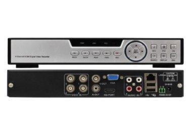 Camera system with four surveillance cameras