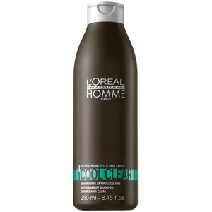 L'Oréal LP Homme Cool and Clear Shampoo 250ml