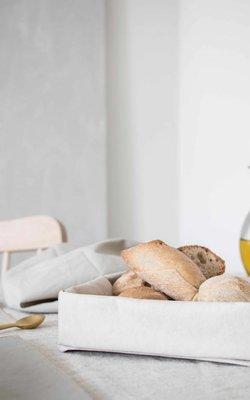 Paniers à pain et plateaux