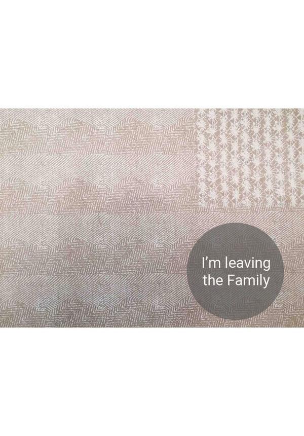 Paper Bag Modern Print Grey / White