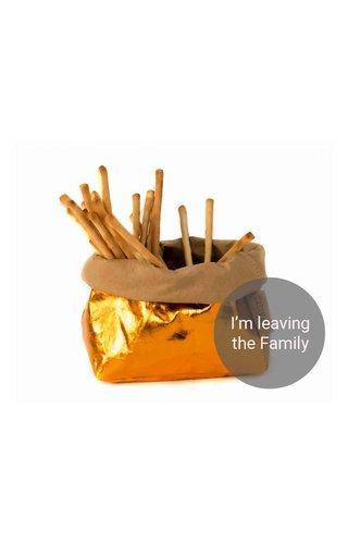 UASHMAMA® Paper Bag Natural / Orange