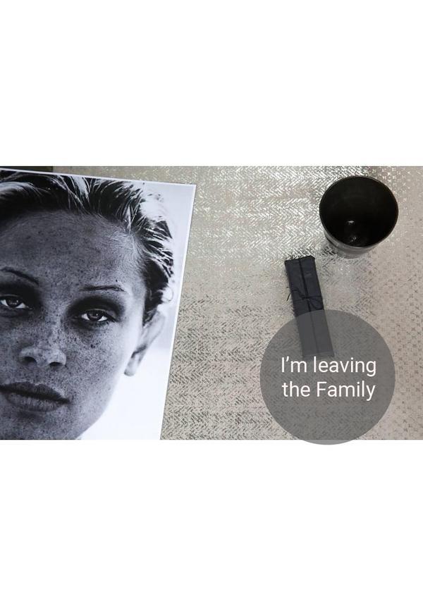 Placemat Modern Print Grey/Silver