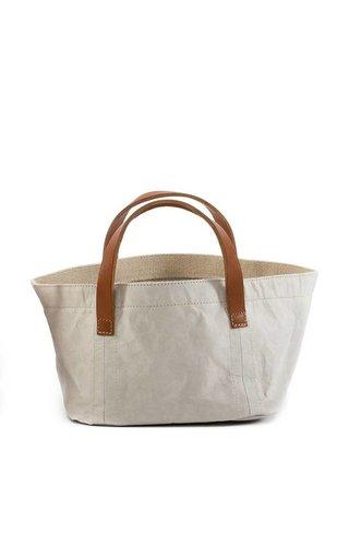 UASHMAMA® Magazine Bag Leather Handles B/C