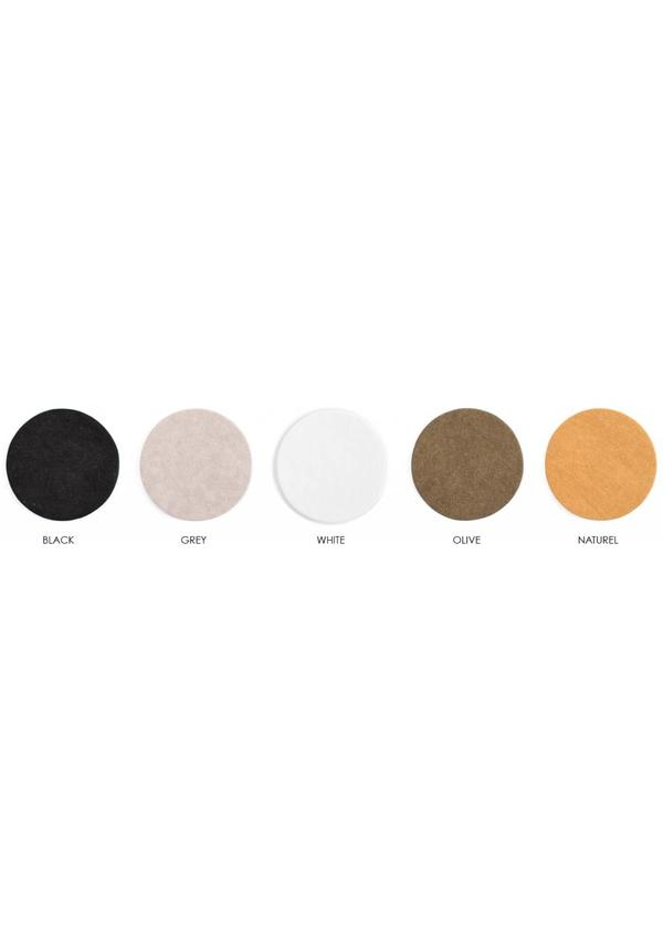 Magazine Bag Leather Handles Basic/Colored