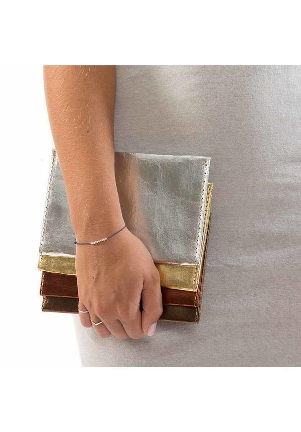 Métallique portefeuille d'origine