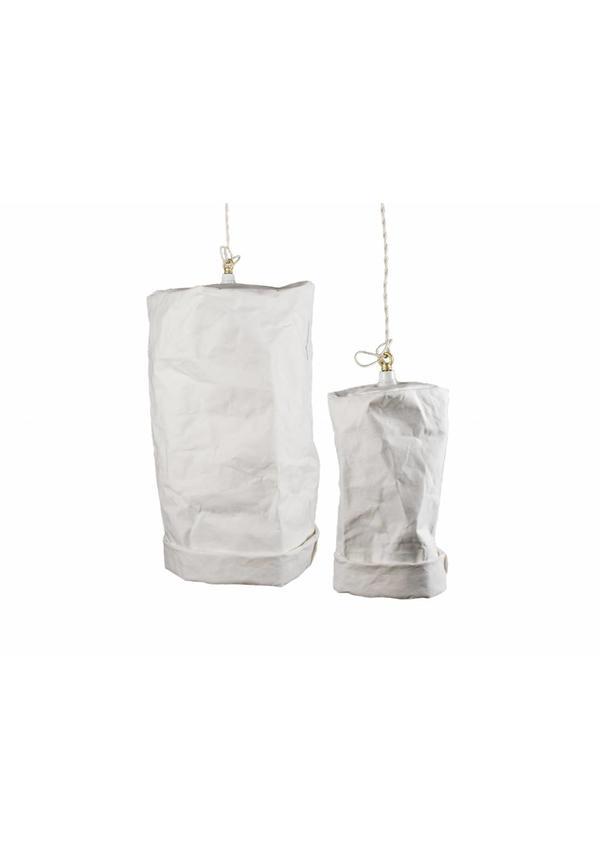 Lampe suspendue blanc
