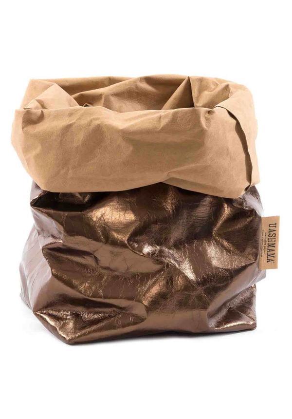 Sac de papier naturel / Bronze
