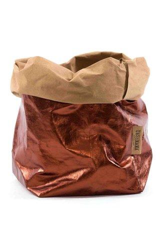 UASHMAMA® Paper Bag Naturel/Copper