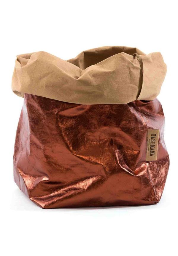 Paper Bag Naturel/Copper