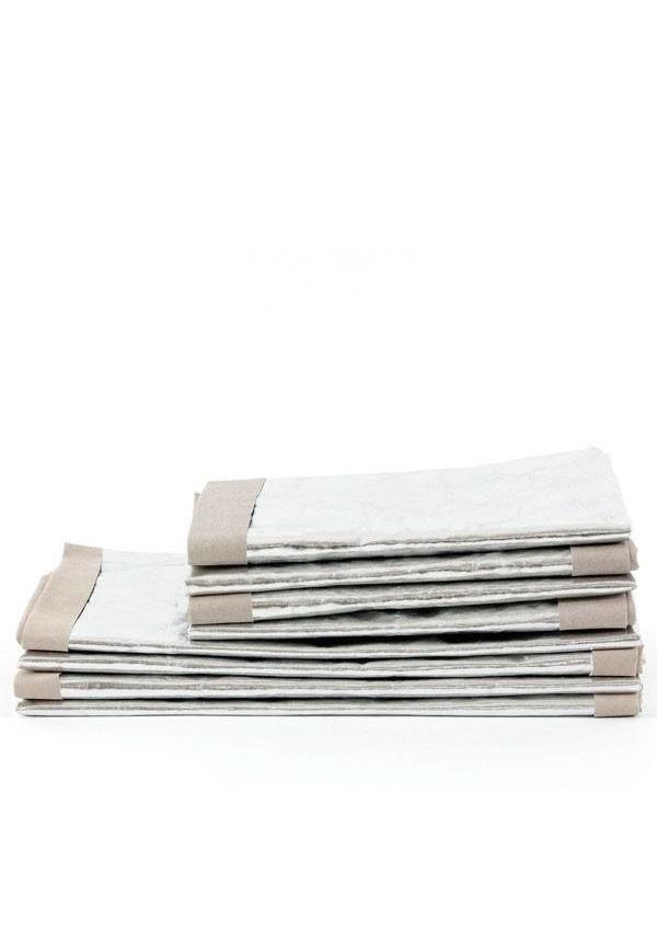 Argent Sac Papier / Gris