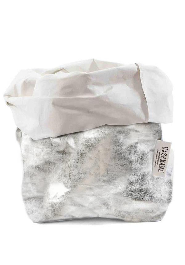 Paper Bag Nuvola White/Silver