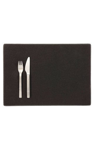 UASHMAMA® Placemat Black