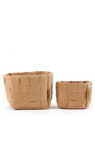 UASHMAMA® Paper Bag Intrecciato Small Basic