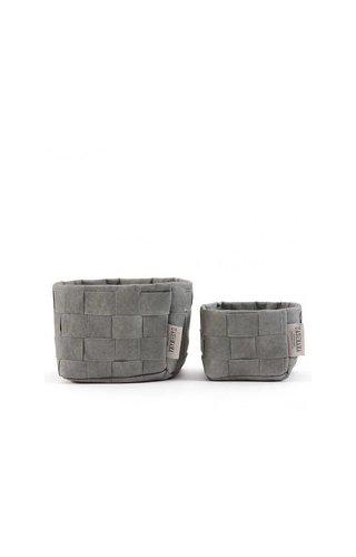 UASHMAMA® Paper Bag Intrecciato Small Colored