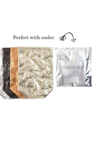 UASHMAMA® Wine Bag Chianti Metallic