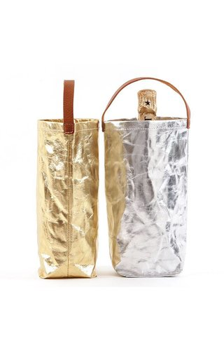 UASHMAMA® Wine Bag Metallic
