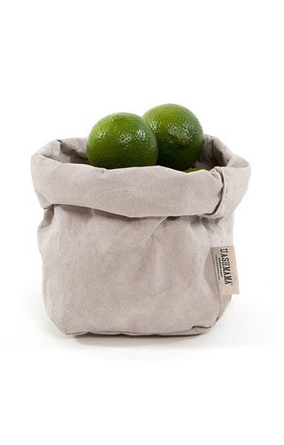 UASHMAMA® Paper Bag Grey