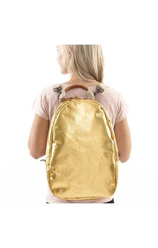 UASHMAMA® Memmo Backpack Gold