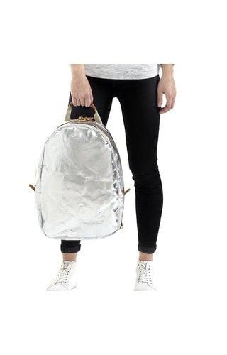 UASHMAMA® Memmo Backpack Silver