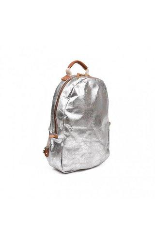 UASHMAMA® Memmo Backpack Nuvola Gray / Silver