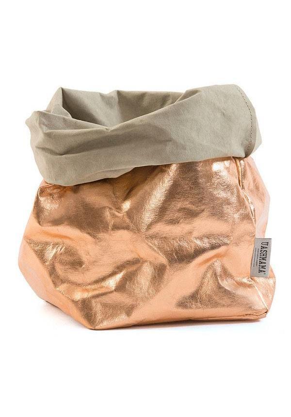 Paper Bag Rosé/Sabbia