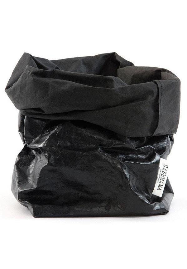 Sac en papier noir / noir