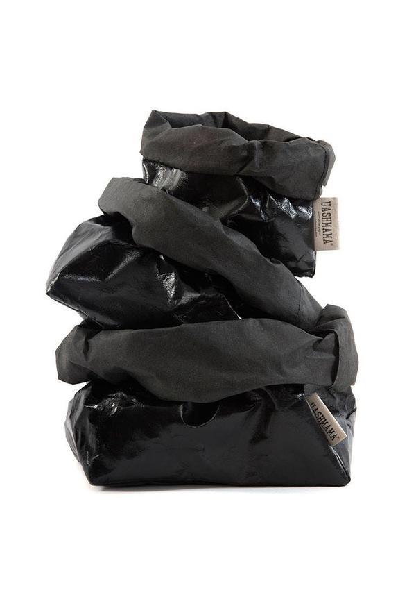Paper Bag Black/Black