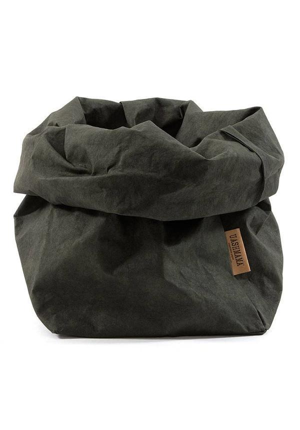 Paper Bag Dark Green