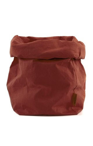 UASHMAMA® Paper Bag Cognac