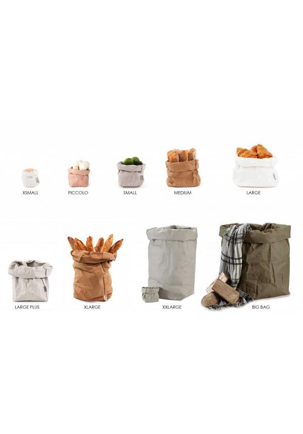 Paper Bag Sabbia/Platino