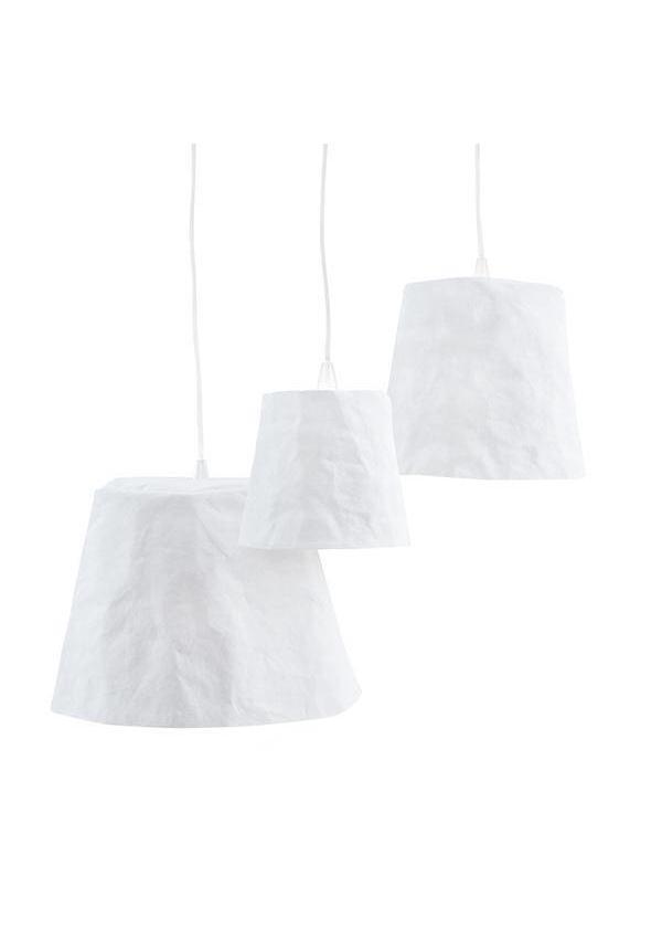 Paniere lampe blanche
