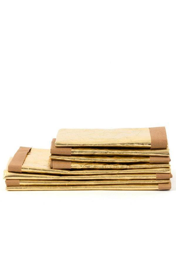 Paper Bag Gold / Natural