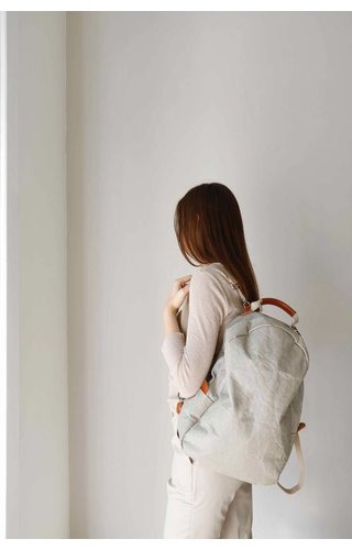 UASHMAMA® Memmo Backpack Gray