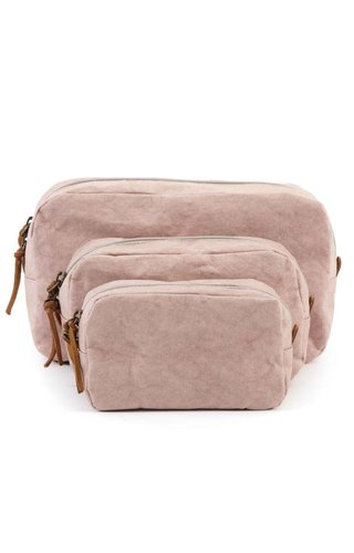 UASHMAMA® Beauty Case Quarzo Rosa