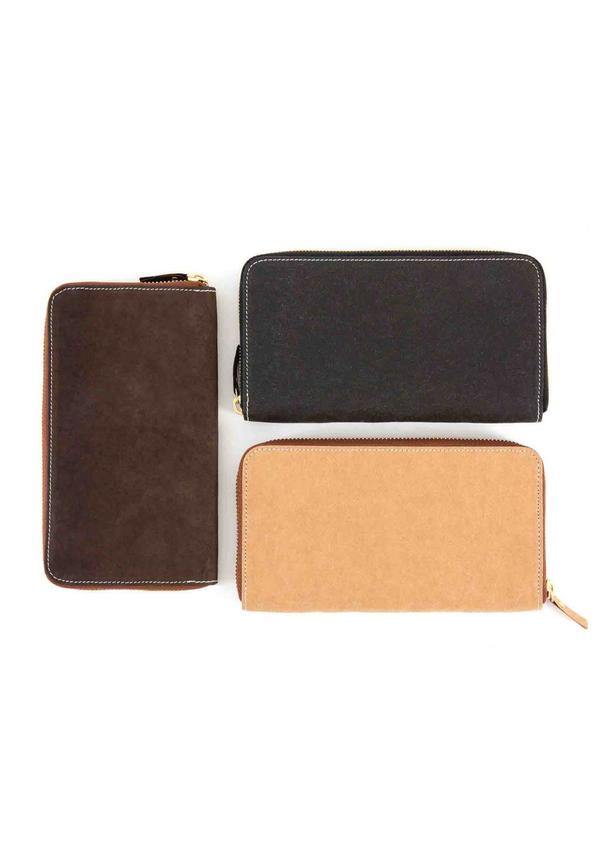 White Wallet Zip Basic / Colored
