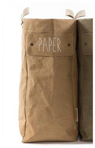 UASHMAMA® Laundry Bag Naturel