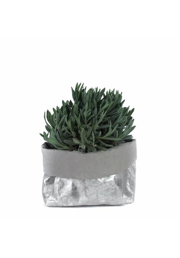 Paper Bag Nuvola Grey/Silver