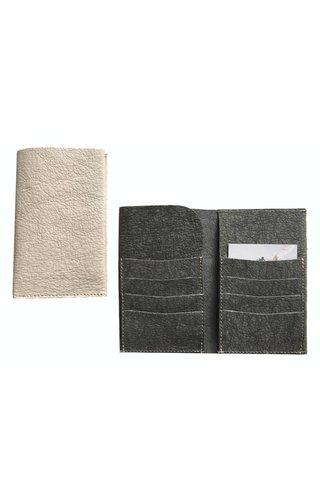 UASHMAMA® Wallet Elephant Dark Gray
