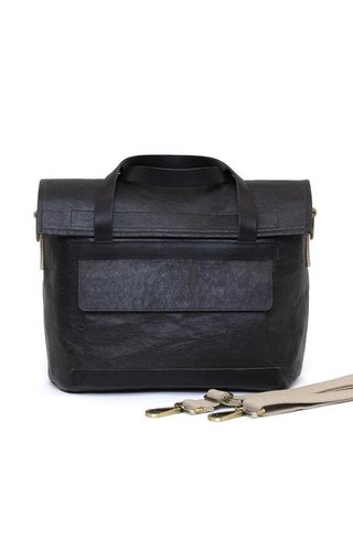 UASHMAMA® Teo Bag Black