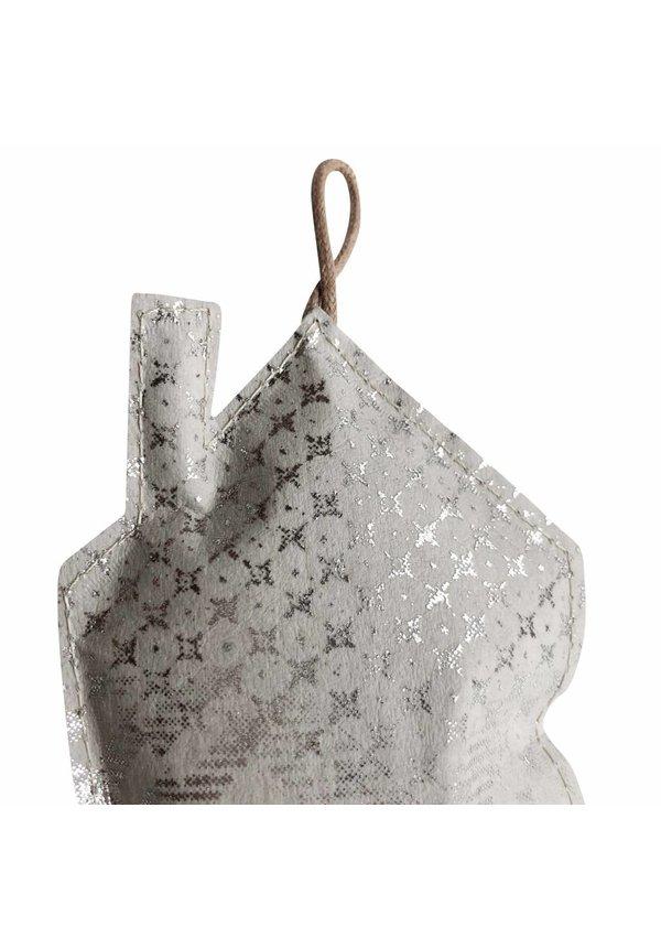 Deco Home Imprimer Petit Gris / Argent