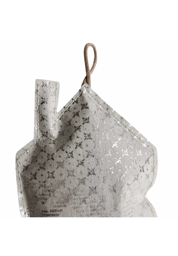 Deco Home Print Small Gray / Silver