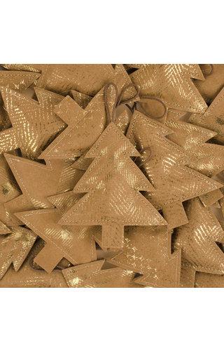 UASHMAMA® Deco Tree Print Small Avana/Gold