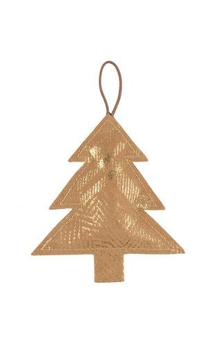 UASHMAMA® Deco Grand arbre Imprimer Avana / Or