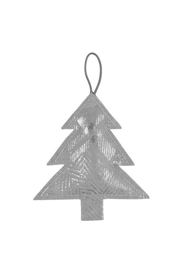 Deco Tree Large Print Grey/Silver
